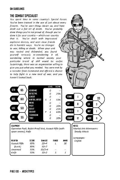 Combat Spec